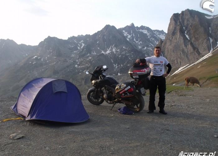 poranek w gorach
