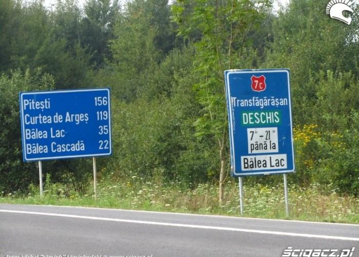 24 wjazd na trase transfogarska