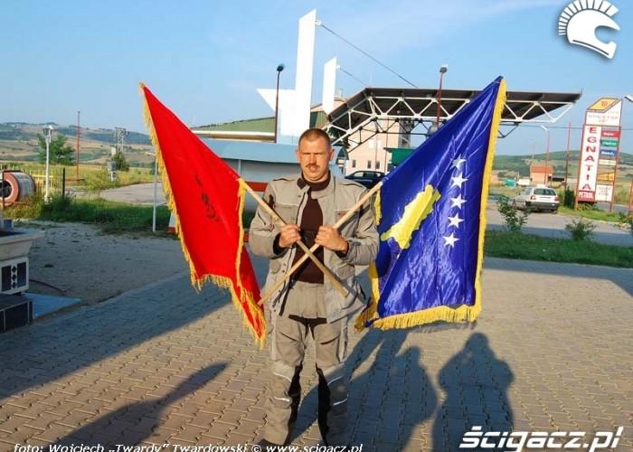 Albania i Kosovo.Posrodku Polska