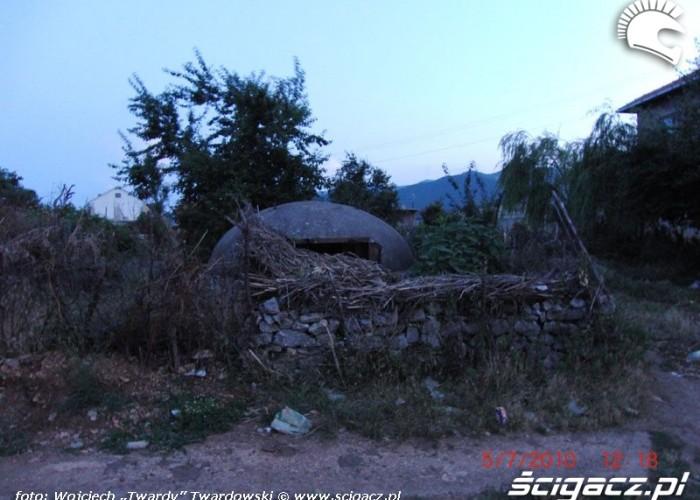 Bunkier w Albanii - jest ich ponad 770000