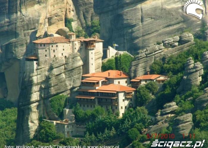 Jeden z kilkunastu Klasztorow na skalach