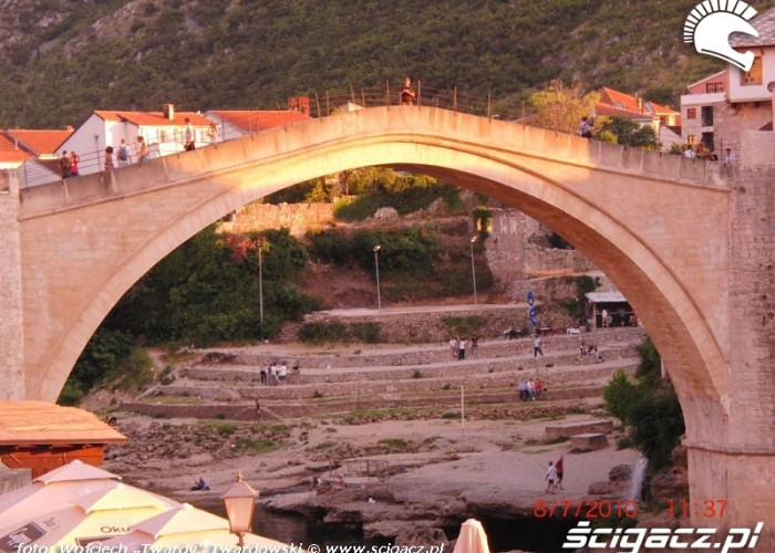 Most w Mostarze,slynny zreszta