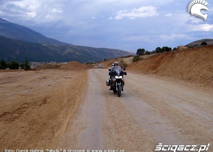 Albania - drogi w gorach