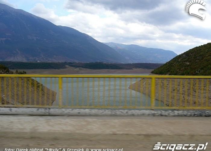 Albania - widok z mostu