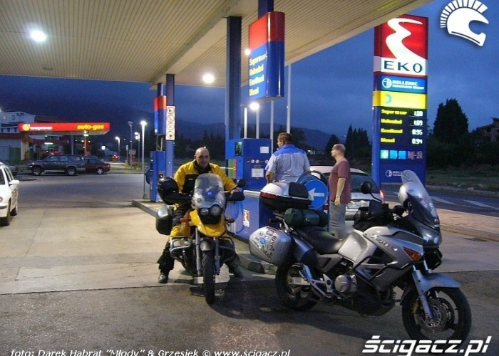 BMW Honda i Grzesiek