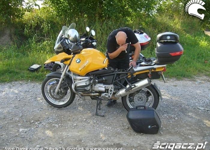 BMW R 1150 GS - naprawa