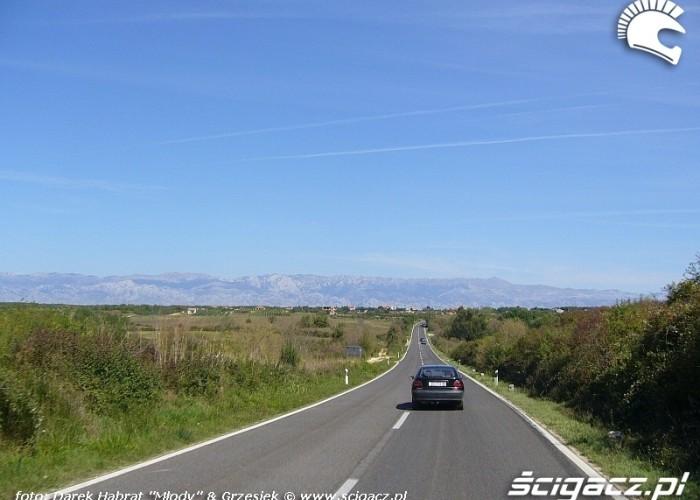 Chorwacja - droga