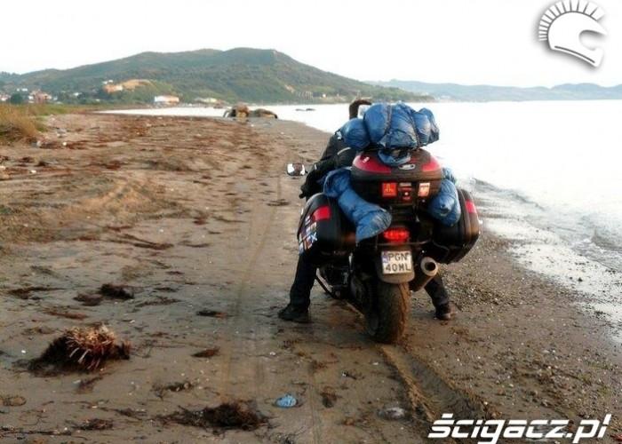 przez plaze long way podroz po europie