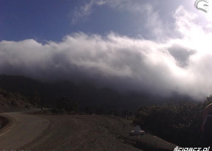 chmury w gorach