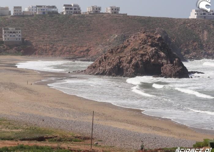 morze skaly plaza