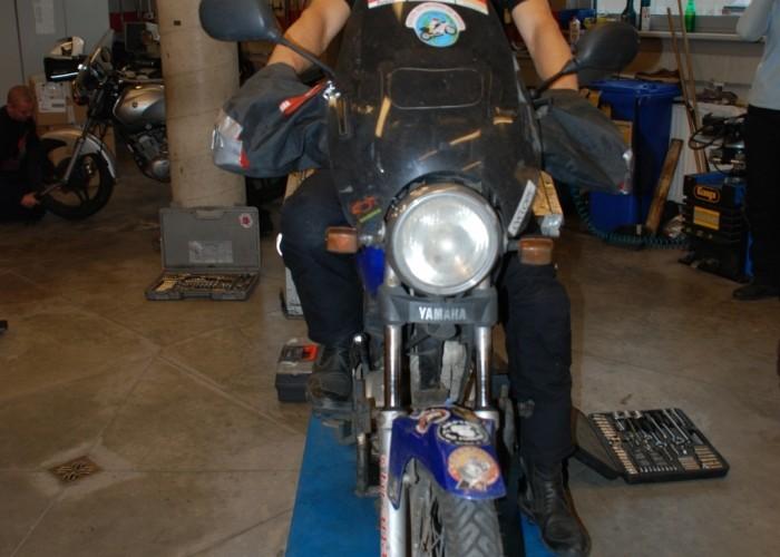 6 Gustavo Cieslar Yamaha YBR