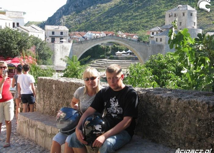 Marta i Rafal w Mostarze MotoEuro