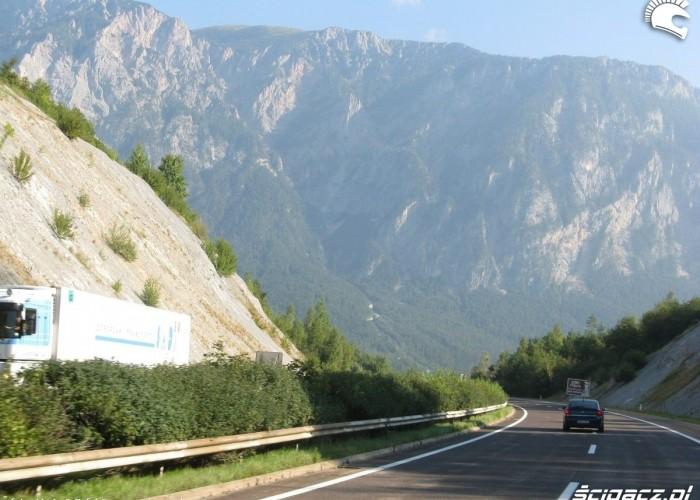 droga w alpach austriackich MotoEuro