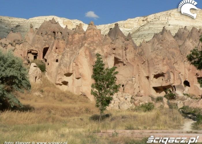 skalne miasto widok skuterem do turcji