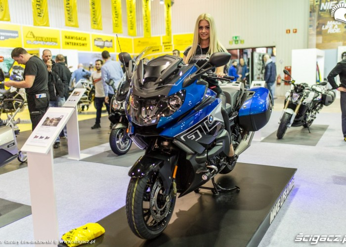 Moto Expo 2017 hostessa bmw