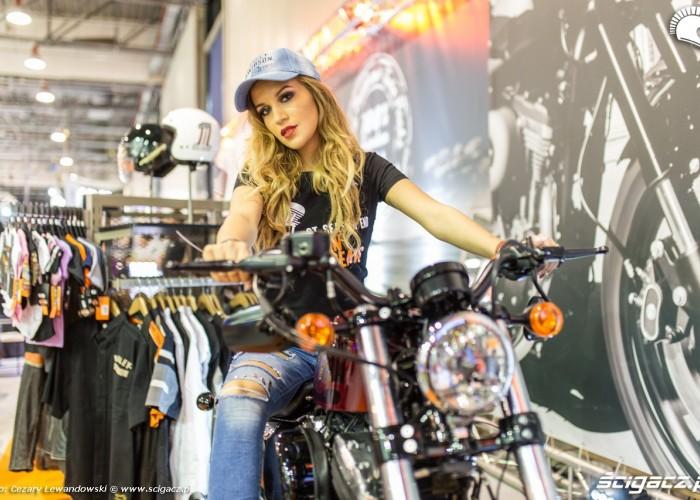 Moto Expo 2017 hostessa harley