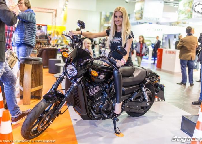 Moto Expo 2017 laska harley davidson