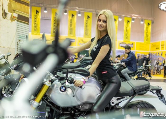 Moto Expo 2017 laska na bmw