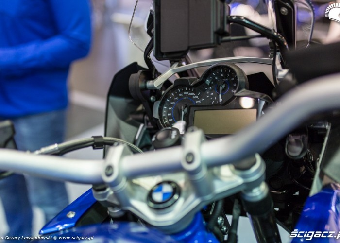 Moto Expo 2017 zegary bmw
