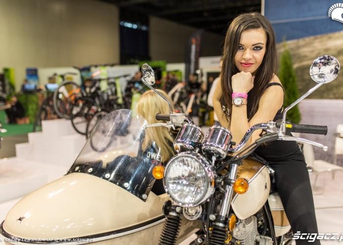 Targi motocyklowe Moto Expo 2017 dziewczyny romet