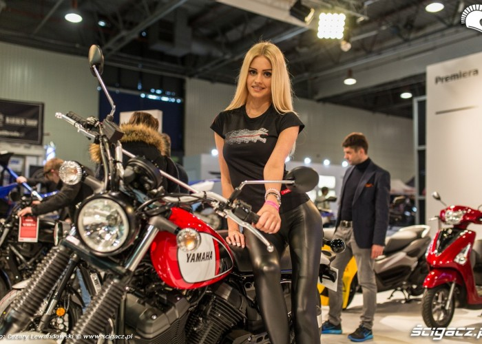 Targi motocyklowe Moto Expo 2017 hostessa scigacz pl