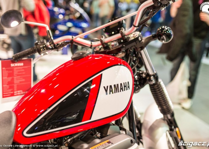 Targi motocyklowe Moto Expo 2017 zbiornik yamaha