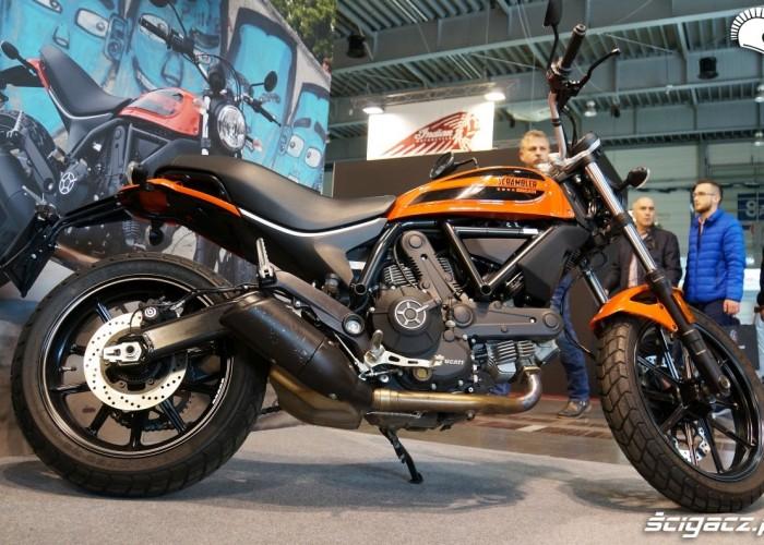 Ducati Scrambler Poznan Motor Show targi 2017