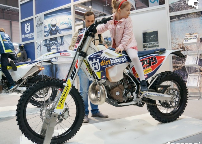 Husqvarna motocross Poznan Motor Show 2017
