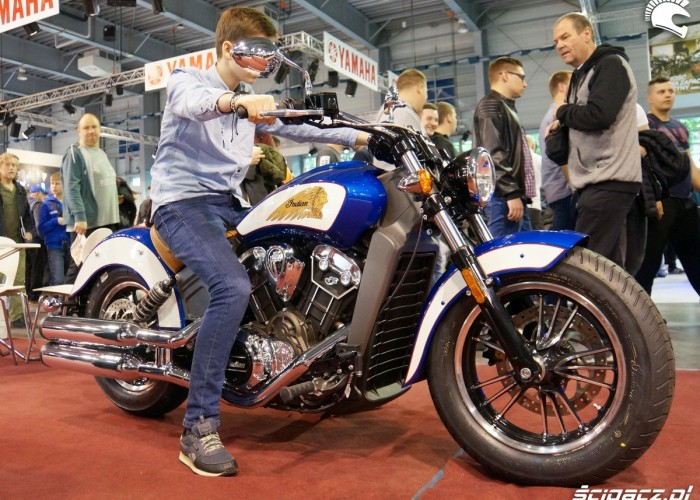 Motocykle Indian Poznan Motor Show 2017