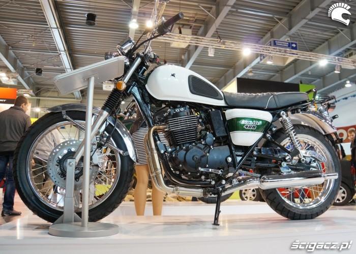 Romet Classic 400 Poznan Motor Show 2017