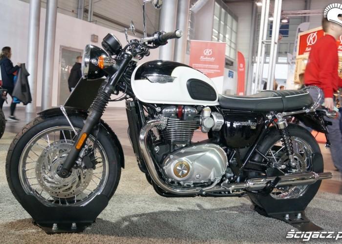 Triumph Bonneville T120 Poznan Motor Show 2017