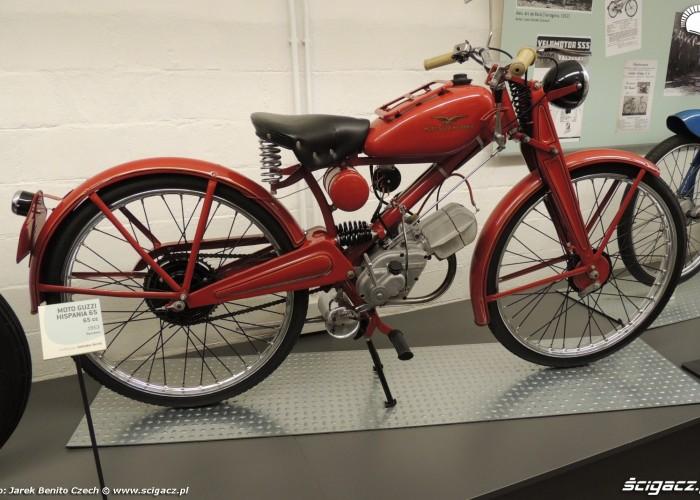 Muzeum motocykli w Barcelonie 10 MotoGuzzi