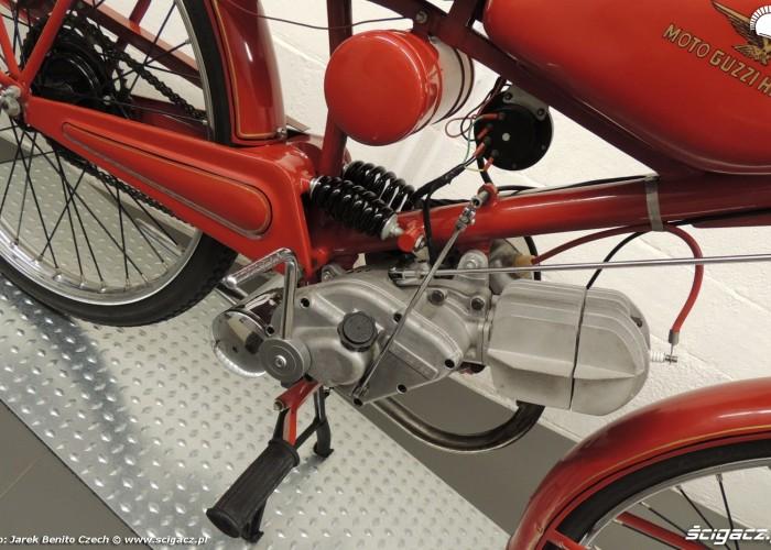 Muzeum motocykli w Barcelonie 11 MotoGuzzi