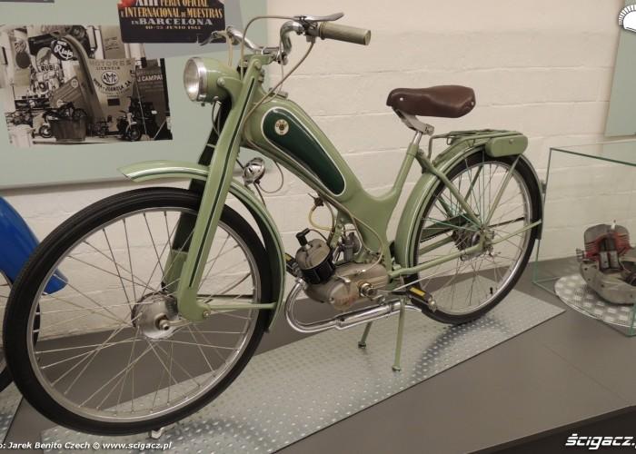 Muzeum motocykli w Barcelonie 13 Ossa 50