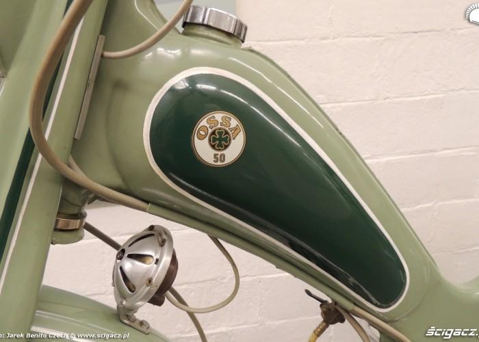 Muzeum motocykli w Barcelonie 14 Ossa 50