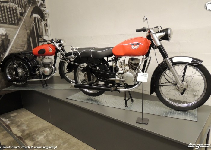 Muzeum motocykli w Barcelonie 22 Reddis