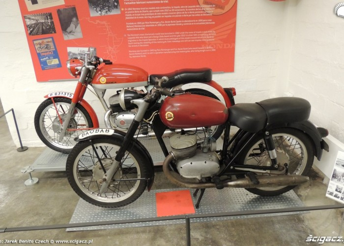 Muzeum motocykli w Barcelonie 23