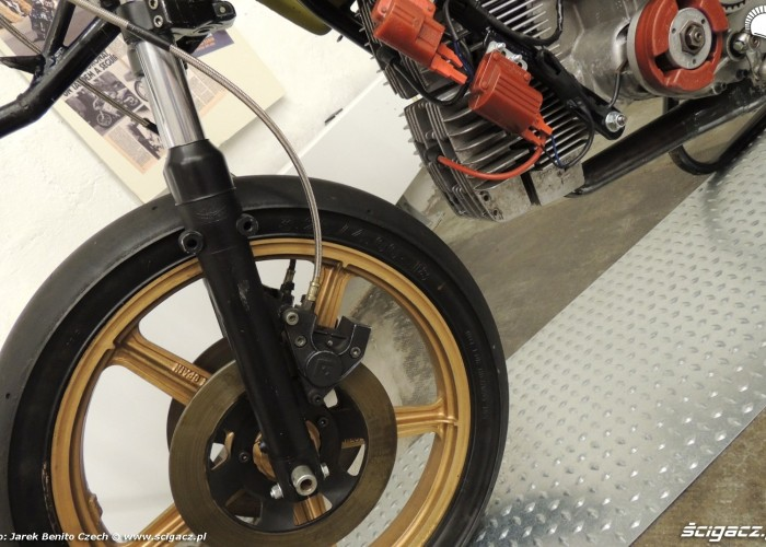 Muzeum motocykli w Barcelonie 26 Arisco Moto