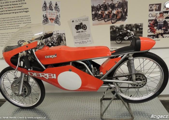 Muzeum motocykli w Barcelonie 29 Derbi