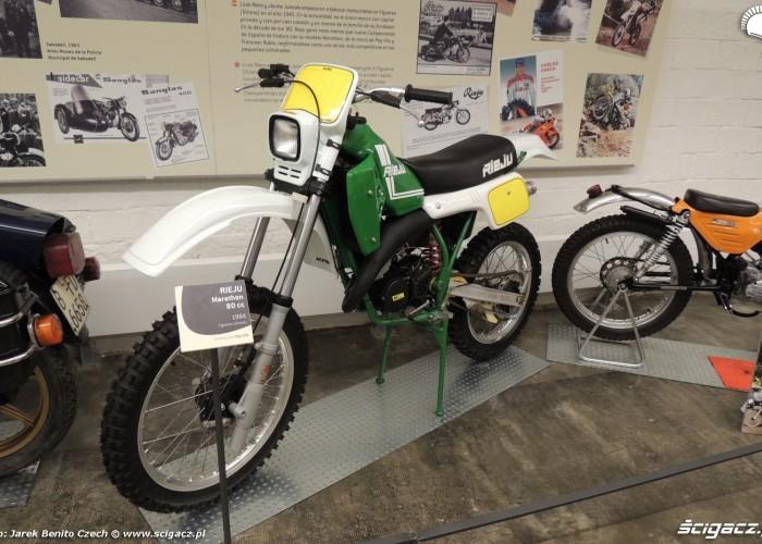 Muzeum motocykli w Barcelonie 31 Rieju