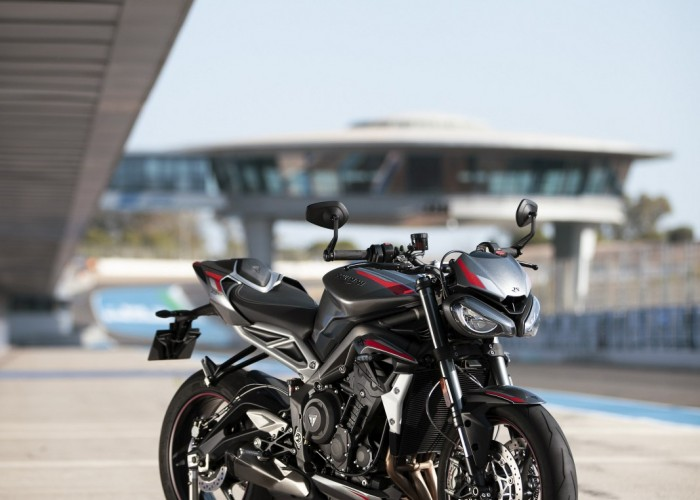 New Street Triple RS Static Location 2