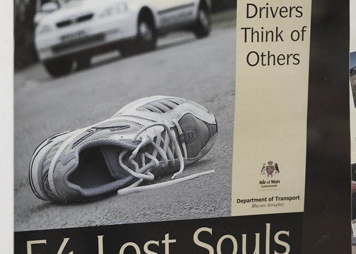 plakaty o wypadkach isle of man k mg 0097