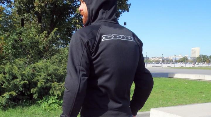 spidi hoodie armor plecy z