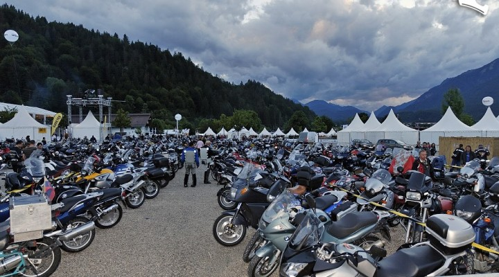 BMW Motorrad Days parking