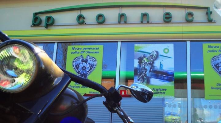 bp conncet Szczecin - Motocyklowa Niedziela na stacji BP 2011