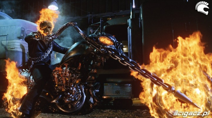 plomienny chopper ghost rider