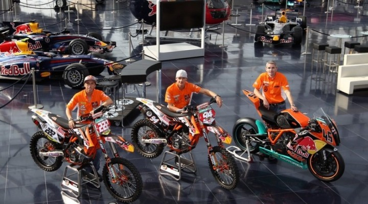 KTM ready to race red bull z