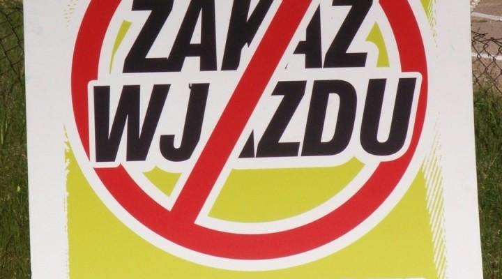 zakaz wjazdu - BP niedziela w Warszawie 2011