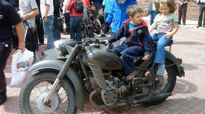 przymiarka do motocykla