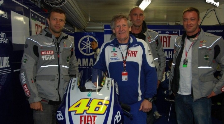 Jeremy Burgess i motocykl Rossiego